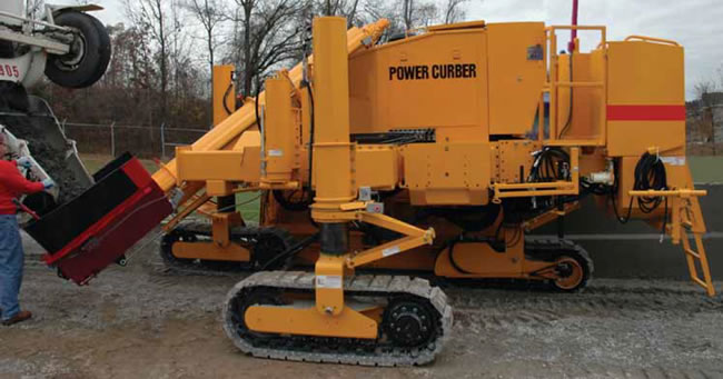 Power Curber 5700 C Slipform Paver Max Package Larger