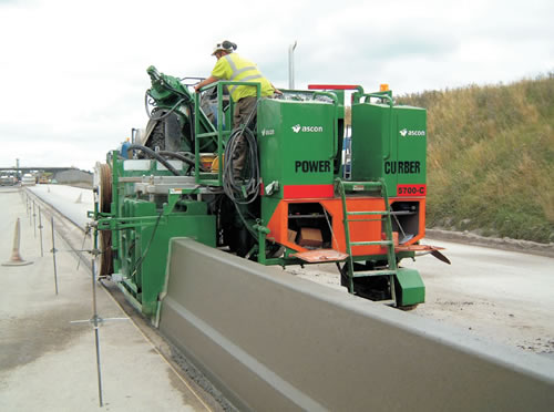 Power Curber 5700 C Slipform Paver Technical